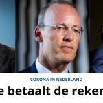 Corona in Nederland: Wie betaalt de rekening?